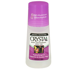 Crystal Roll On Body Deodorant By French Transit Fragrance Free