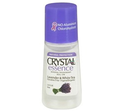 Crystal Essence Mineral Deodorant Roll On By French Transit Lavender & White Tea
