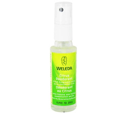 Deodorant Spray Citrus Scent Travel Size