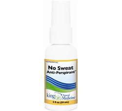Homeopathic Natural Medicine No Sweat Anti-Perspirant
