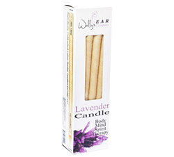 Lavender Paraffin Ear Candle