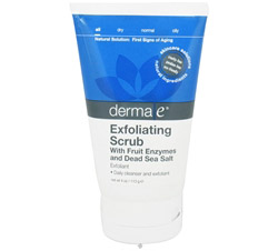 Exfoliating Scrubwith Fruit Enzymes and Dead Sea Salt