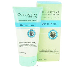 Detox Mask Anti-Acne Mask with 10% Sulfur & Active Charcoal