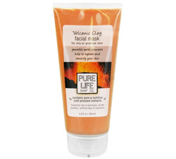 Facial Mask Volcanic Clay For Oily/Problem Skin
