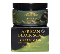 African Black Soap Cream Mask