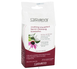 Facial Cleansing Towelettes Soothing Unscented DAILY DEAL
