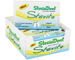 SteviaDent Chewing Gum Natural Peppermint Flavor