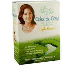 Color The Gray Hair Color & Conditioner Kit Light Brown