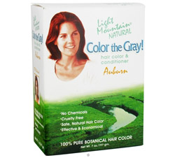 Color The Gray Hair Color & Conditioner Kit Auburn