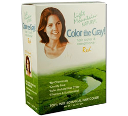 Color The Gray Hair Color & Conditioner Kit Red