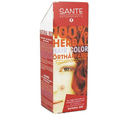 100% Herbal Hair Color Natural Red CLEARANCE PRICED