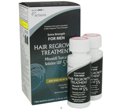 Extra Strength Hair Regrowth Treatment for Men Two Month Supply