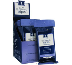 Hand Cleansing Wipes On The Go Lavender