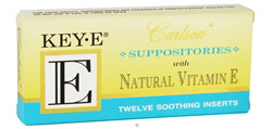 Key-E Suppositories With Natural Vitamin E OVERSTOCKED