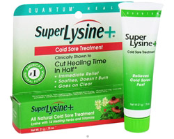 Super Lysine Cold Sore Treatment