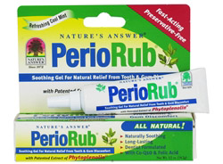 PerioRub Soothing Gel For Natural Relief From Tooth & Gum Discomfort