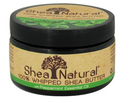 100% Whipped Shea Butter With Peppermint Essential Oil CLEARANCE PRICED