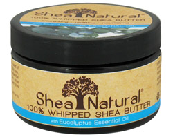 100% Whipped Shea Butter With Eucalyptus Essential Oil CLEARANCE PRICED