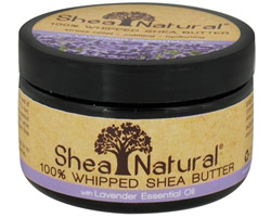 100% Whipped Shea Butter With Lavender Essential Oil CLEARANCE PRICED