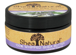 100% Whipped Shea Butter Lavender Rosemary CLEARANCE PRICED