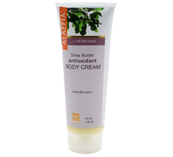 Body Cream Antioxidant Shea Butter Lavender Spice Scent CLEARANCE PRICED