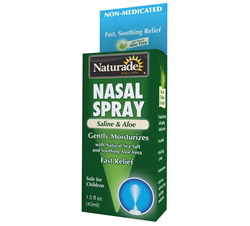 Nasal Spray Saline & Aloe
