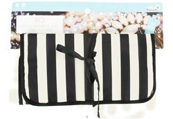 (ECO) Jewelry Roll Tuxedo Stripe LUCKY DEAL