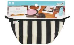 (ECO) Beauty Clutch Tuxedo Stripe LUCKY DEAL