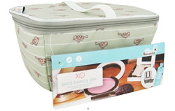 (ECO) Beauty Pak Beauty Clutch + Brush Boxe Birds On A Wire LUCKY DEAL