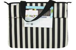 (ECO) Laptop Bag Tuxedo Stripe LUCKY DEAL