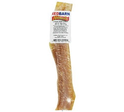 Natural Beef Strap Large Dog Chew