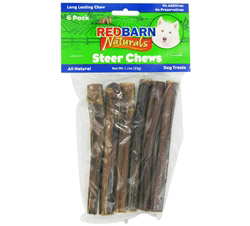 Natural Steer Sticks Dog Chews 5 in.
