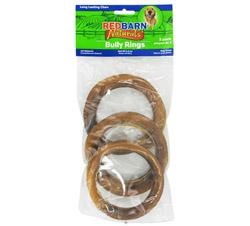 Natural Bully Rings Small Dog Chews