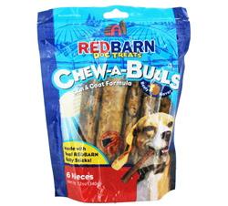 Chew-A-Bulls Dog Chews 6 in. Beefy Flavor