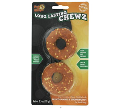 Long Lasting Chewz 2.5 Inch Rings For Adult Dogs