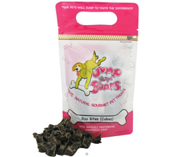 100% Natural Gourmet Pet Treats Roo Bites