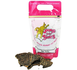 100% Natural Gourmet Pet Treats Roo Jerky