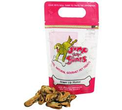 100% Natural Gourmet Pet Treats Green Lip Mussel