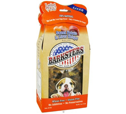 Barksters Dog Treats Sweet Potato & Liver Krisps CLEARANCE PRICED