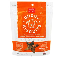 Buddy Biscuits Soft & Chewy Dog Treats Peanut Butter