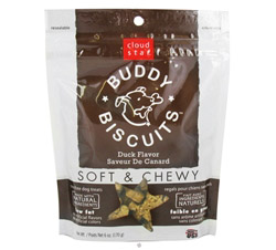 Buddy Biscuits Soft & Chewy Dog Treats Duck