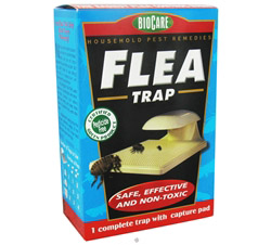Electric Flea Trap With Capture Pad