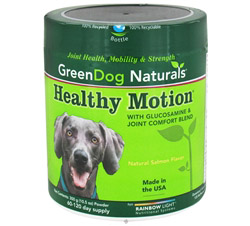 Healthy Motion with Glucosamine & Joint Comfort Blend Powder 60-120 Day Supply Natural Salmon Flavor