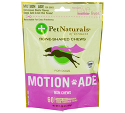 Motion Ade MSM Chews For Dogs Duck Flavored