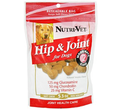 Hip & Joint Level 2 Soft Chews For Dogs Natural Smoke Flavor