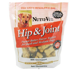 Hip & Joint Level 1 Wafers For Dogs Peanut Butter CLEARANCE PRICED