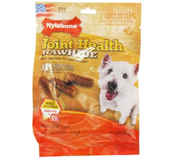 Joint Health Rawhide With Glucosamine & Chondroitin Regular Dog Treats Roast Beef