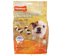 Good Puppy Rawhide With Calcium Small Braids Chicken
