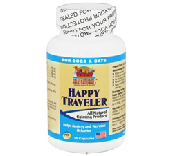 Happy Traveler Pet Calmer For Cats & Dogs
