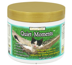 Quiet Moments Calming Aid Powder For Cats CLEARANCE PRICED